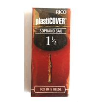 Palheta Sax Soprano Nº 1,5 Rrpo5ssx150 Rico Plasticover Cx 5