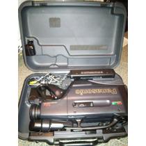 Filmadora Semi-profissional Panasonic Vhs Nv M2400