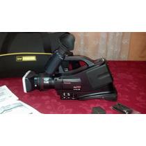 Filmadora Panasonic Ag Ac7 Impecável + Acessórios!!!