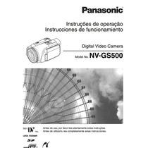 Manual Panasonic Nv-gs500 3ccd Em Português Com Imagens.