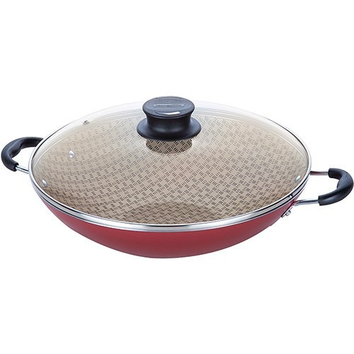 panela wok tramontina paris antiaderente 32cm cereja r 136 90 em mercado livre. Black Bedroom Furniture Sets. Home Design Ideas