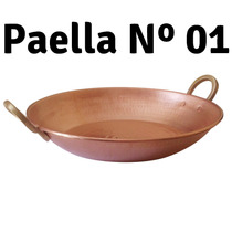 05 Paella De Cobre Artesanal Martelado 01 R & A Metai