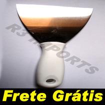 Espátula Corta Pizza - Chapeiros Aço Inox Frete Grátis Br