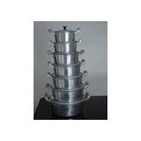 Jogo De Panela Em Alumínio Fundido Com 7 Pèças