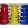 Jogo De Panela 5 Unidade Aluminio Fundido Luxo Coloridas