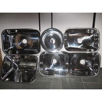 Cubas De Aço Inox 304 Industrial 50x40x20 Cozinha