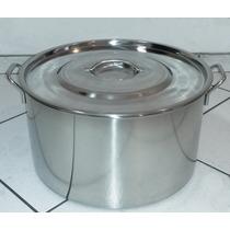 Panela De Aço Inoxidavel 41 Litros Cozinha Industrial