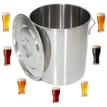 Caldeirão De Inox 71 Litros - Cervejeira -cozinha Industrial