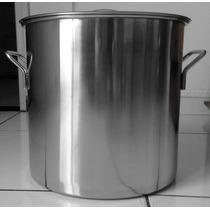 Caldeirão De Inox 12 Litros - Cervejeira -cozinha Industrial