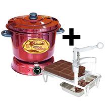 Kit Fábrica De Chocolate, Picador +derretedeira+frete Grátis