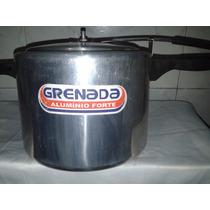 Panela De Pressão 7 Litros Aluminio Polido - Grenada