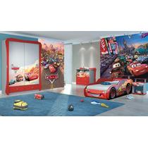 Papel De Parede Infantil Disney Carros
