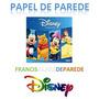 Papel De Parede Border Faixa Mickey Minie Pooh Princesas Dis