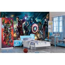 Papel De Parede Vingadores Heróis Marvel Iron Man Thor M²