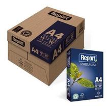 Papel Sulfite A4 75gr 210x297 Caixa Com 10 Resmas Hp/report