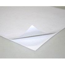 Vinil Adesivo Branco Brilho A4 Impressora Jato De Tinta