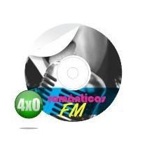 Adesivo Cd Dvd 6 Unidades