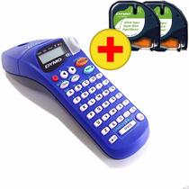 Rotulador Eletrônico Letratag Xr Dymo + 2 Fitas Etiquetas