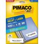 Etiqueta Carta 6282 Pimaco Cx C/ 25 Folhas 350 Etiquetas