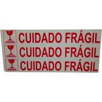 Etiqueta Gigante Cuidado Fragil 1000 Etiquetas Por Rolo