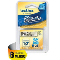 Cartucho De Fita Brother Pt-65 Pt-85 Pt-100 Pt-110 Pt-70bm