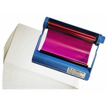 Papel E Ribbon Hiti Serie 6 Azul: 630, 631, 640 Ps/id