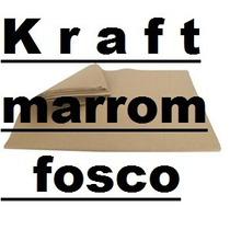 Papel Kraft (marrom) Formato A4 80 Gr 250 Folhas- Rj