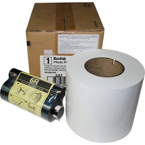 Papel E Ribbon Para Impressora Kodak 6800 E 605