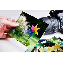 Papel Fotográfico Adesivo Glossy A Prova D