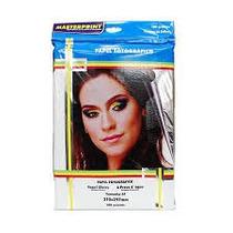 Papel Fotográfico Adesivo Glossy Paper A-4 Com 20 Folhas