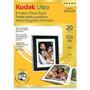 Papel De Foto Premium Kodak Extra Brilhante 20 Folhas (527)