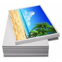 Adesivo Fotográfico Glossy 20 Unid. A Prova D´água 135g A4