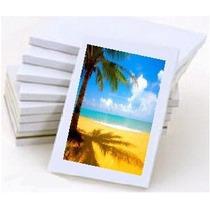 10 Folhas Papel Fotográfico Adesivo Glossy A4 Brilhante