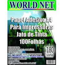 2.000 Folhas Papel Adesivo Fosco