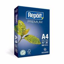 Resma Papel Sulfite A4 Report C/ 500fls