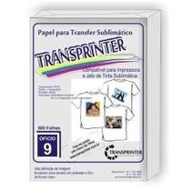 Papel Sublimático Alta Definição Transprinter 120 Gr $ 15,99