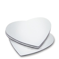 Mouse Pad Para Sublimação Coração - Para Personalizar 10un
