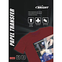 Papel Transfer Bright A-4 P/tecidos Escuro 5 Fls