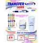 Papel Transferr Impressora laser Para Canetas