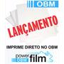 Obm Power Film A3 Transfer Tecido Escuro Pcte C/ 100 Folhas