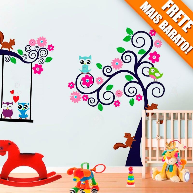 Papel de parede quarto bebe coruja obtenha for Papel para pared infantil