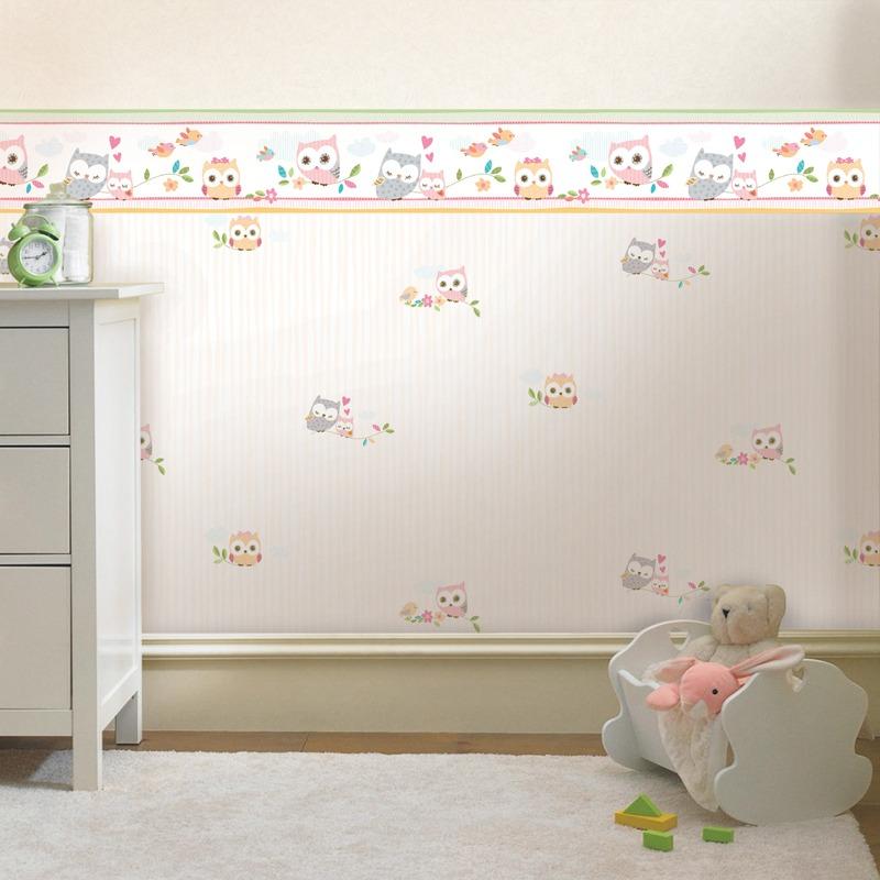 Papel de parede infantil importado lav vel instalado for Papel pared infantil