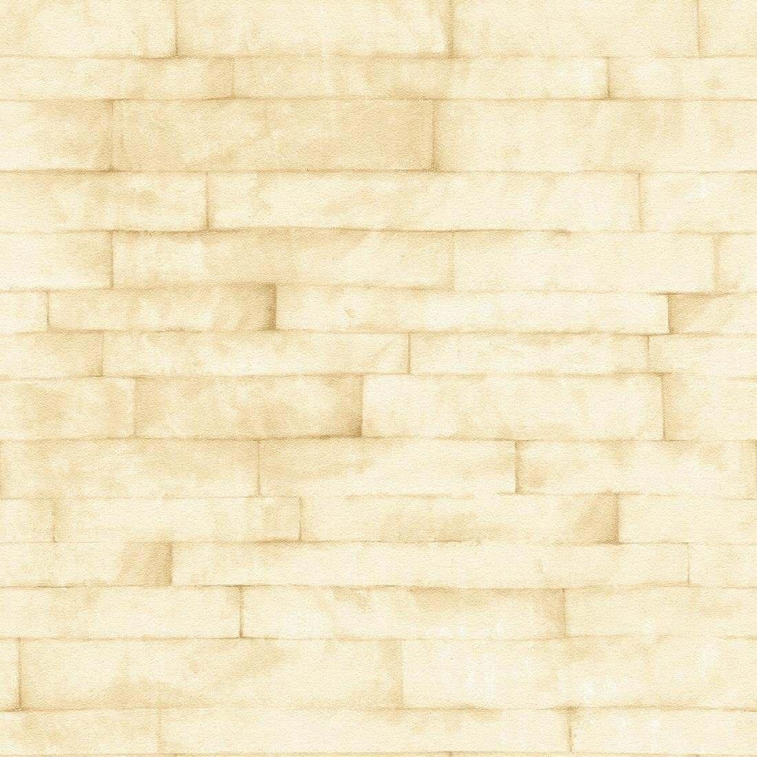 Papel parede tijolo branco 10 metros x 52cm bobinex for Papel decorativo pared infantil