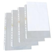 Envelope Plástico A4 Com Tarja P40 11 Furos C/100 Acp