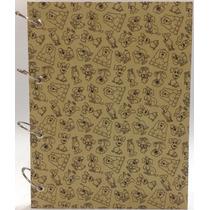 Caderno Universitário Argolado Fichário Pet Dog 192 Fls
