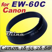Parasol Ew-60c Lente Canon18-55mm 550d 600d T3 T3i T4i T5i