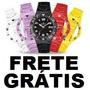 Relógio Troca Pulseira Estilo Champion --- Frete Grátis ---