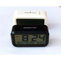 Relógio Digital De Led Tela Lcd + Barato Do Mercado Livre