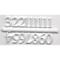 Algarismos Numéricos Para Relógio De Parede - Pequeno Branco