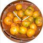 Relógio De Parede Redondo Fruta Cambuca